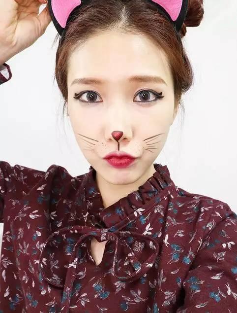 至臻尚美#【美妆】性感又可爱就是这款猫咪妆容的魅力