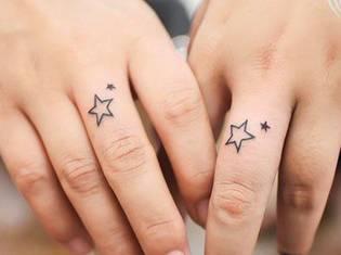 手指:刺青