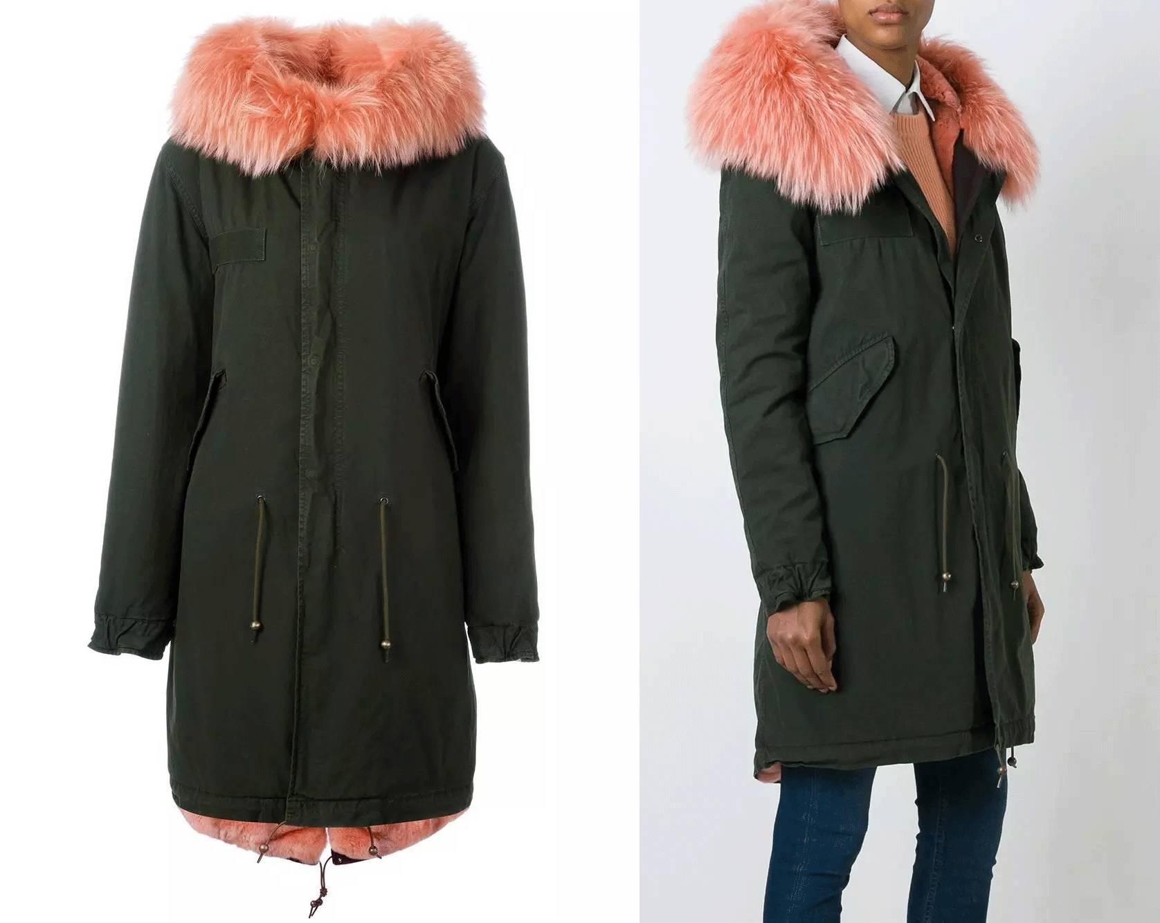 只关心她的那件派克大衣高清图片