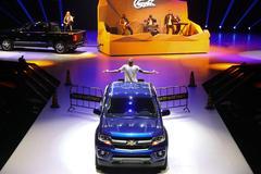 雪佛兰品牌之夜,那台皮卡拖出了一座舞台!