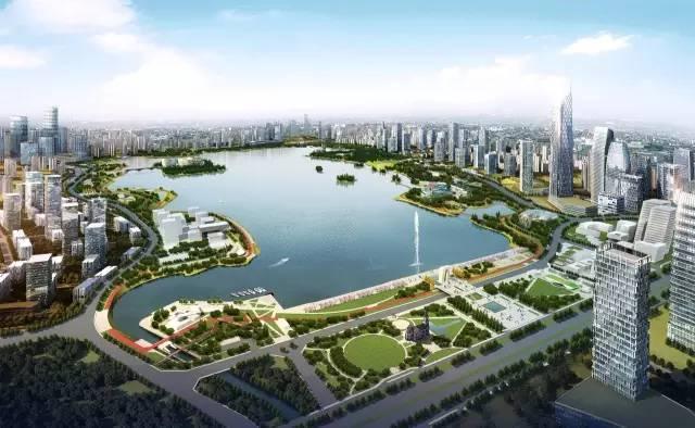 天府新区-成都科学城规划效果图