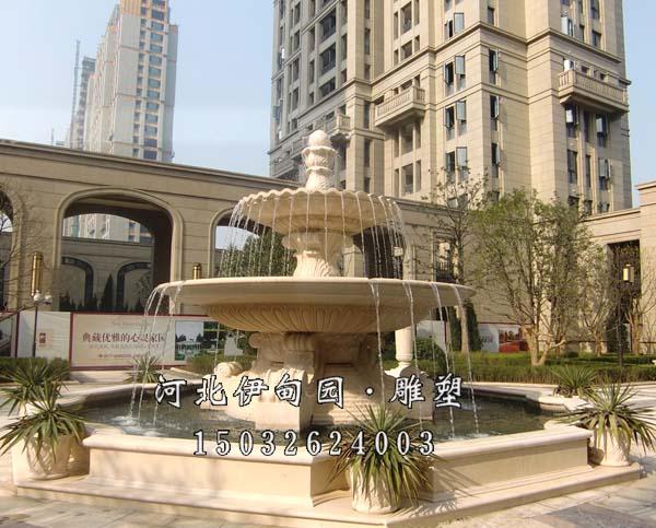 论石雕喷泉的风水作用