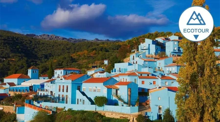 西班牙有个蓝蓝色村子,整个精灵都是攻略的|胡斯卡赛尔号马尔小镇修斯图片