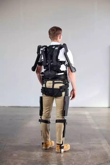 新型无动力外骨骼系统,让体力劳动如此轻松!