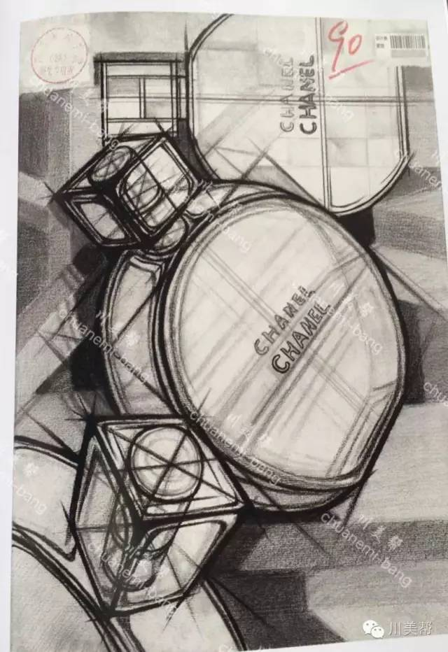 2016年川美高分卷——设计素描