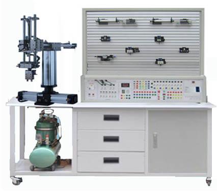 气动机械手与plc综合实训装置图片