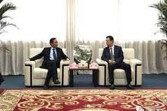 【考察交流】泰兴市市委副书记张坤先生等领导莅临上股交考察交流