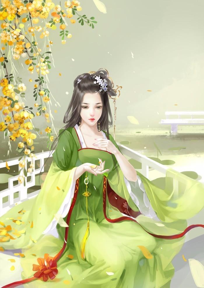古装中国风动漫图片