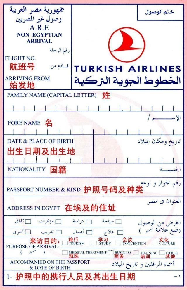 出境必参 你要的所有国家出入境卡填写指南都在这了