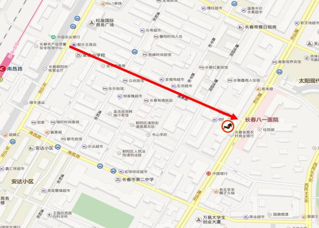 3,沿德惠路由西向东行驶的机动车在建设街口禁止向左转弯图片
