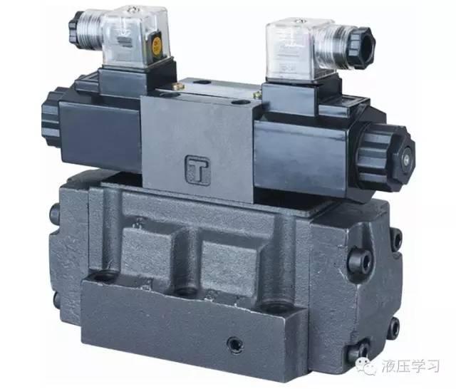 概述: 电液换向阀是由电磁换向阀作先导阀与液动换向阀组合而成,由图片
