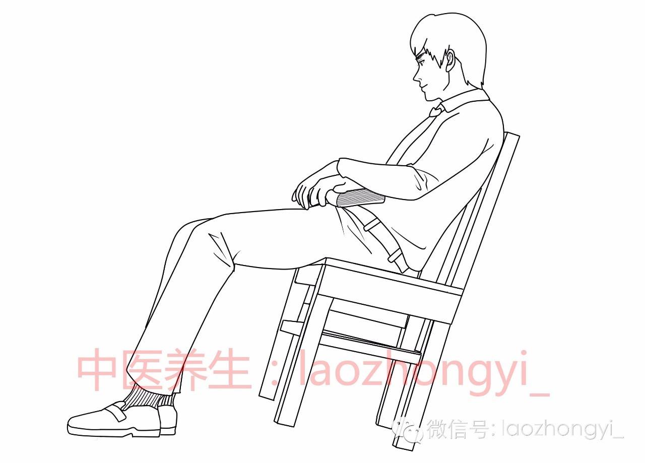 健康 正文  有些人坐在椅子上后,坐着坐着就开始把椅子的两条后腿或两