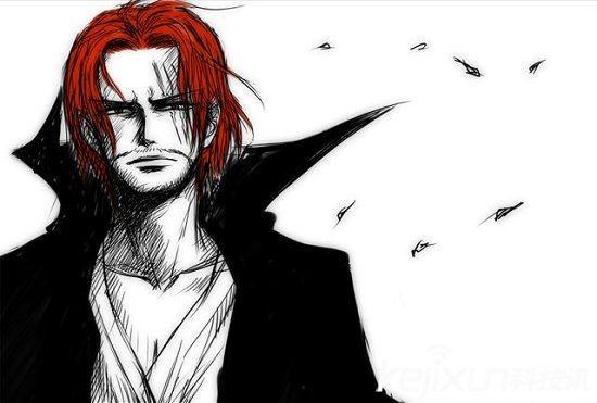 红发香克斯,路飞的引路人,四皇之一,前任海贼王的手下.