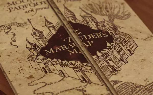 童年       活点地图是霍格沃兹学院最全面的地图,更加神奇的是它上边