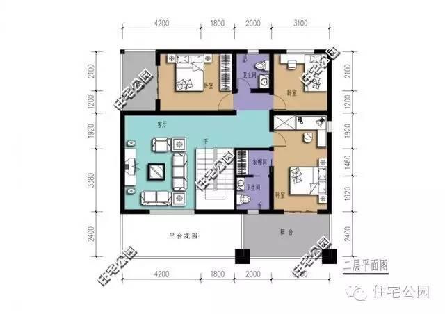 5套新农村二层自建别墅户型,为啥第4套最受欢迎