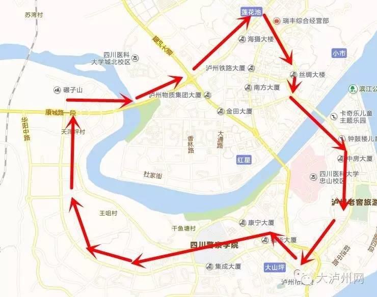 叙永城区规划图