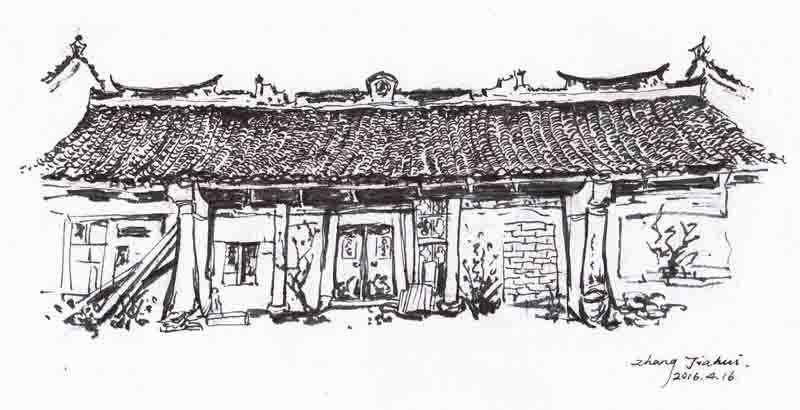 江北区马径古建筑群手绘展将在宁波天一阁博物馆举办
