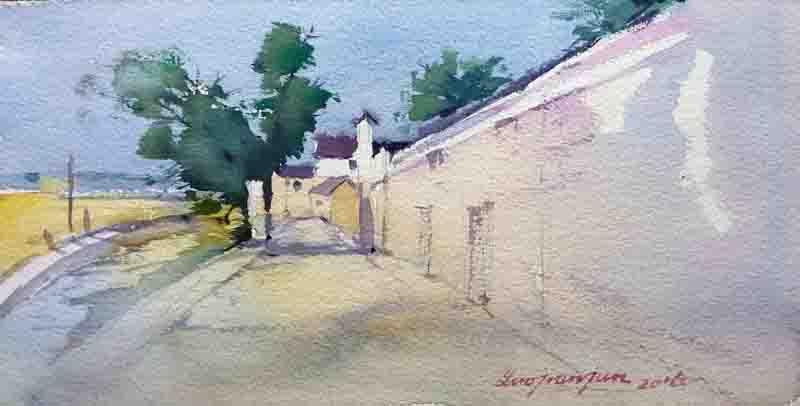 江北区马径村古建筑手绘展将在宁波天一阁博物馆举办