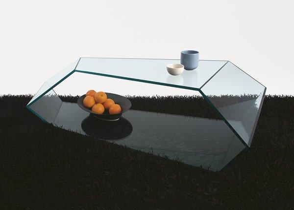 国外设计大师的创意玻璃茶几