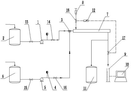 图为一种动态结垢测试仪的整体结构示意图图片
