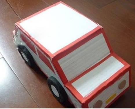 手工制作小汽车 两种款式教给你 巧手教育图片