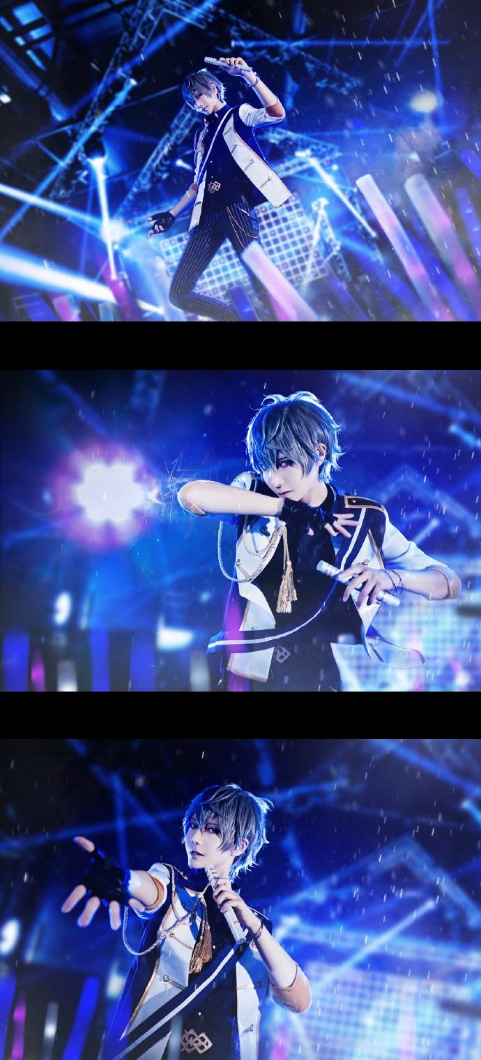 ����yki��j9�m9n�_偶像梦幻祭:knights舞台,这是打破了次元壁的cos