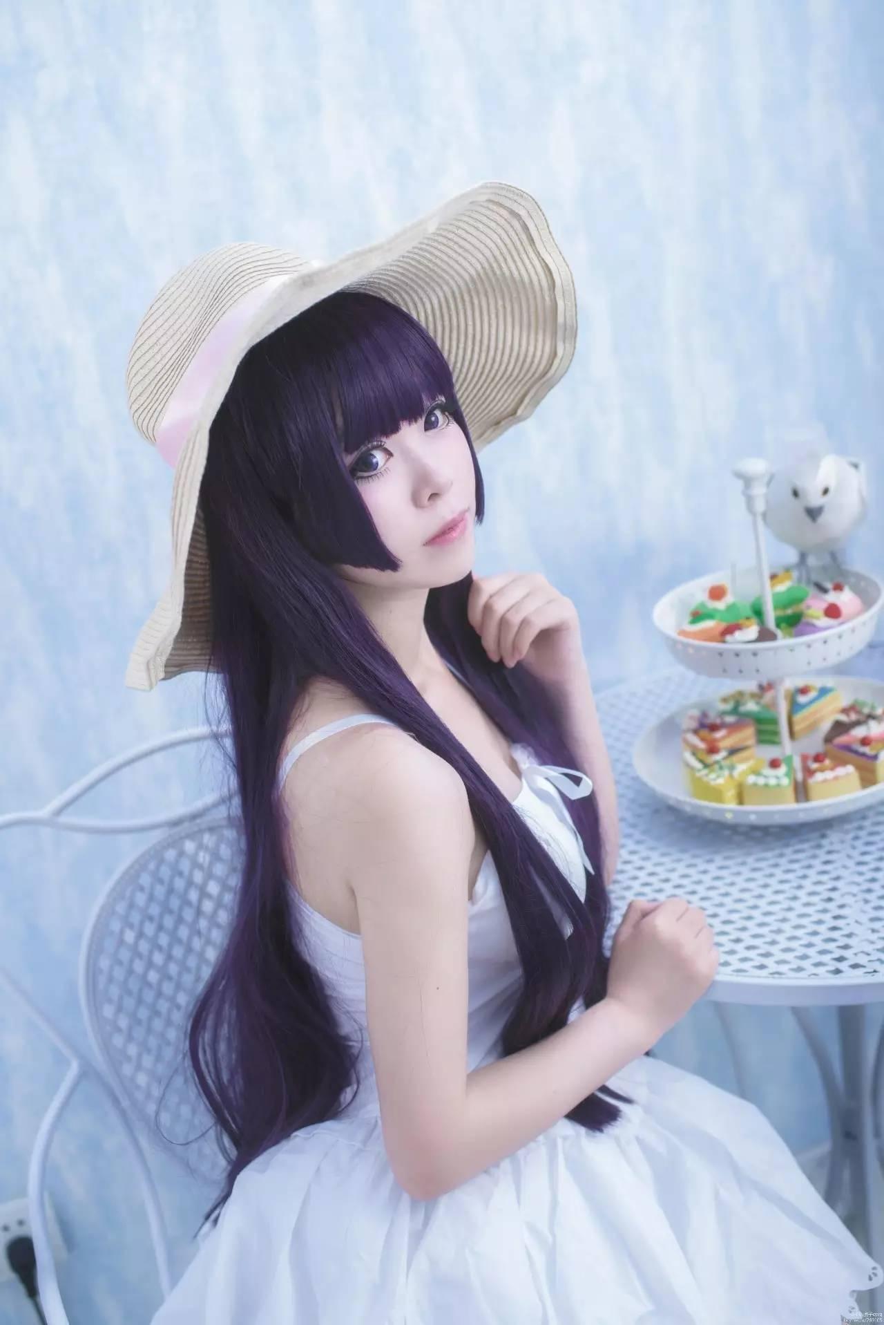再现原版发型,姬发式刘图片