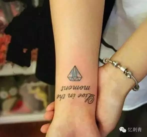 时尚小清新手腕纹身图案推荐