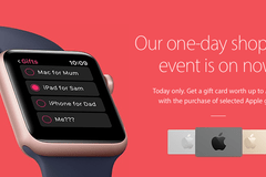 """苹果""""黑色星期五""""促销活动揭晓:只送礼品卡"""