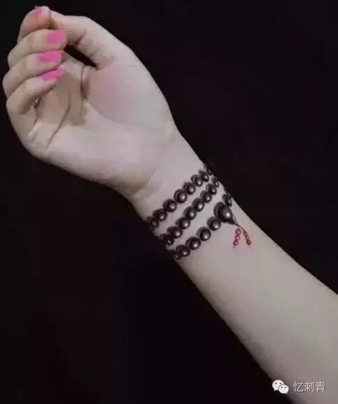 时尚小清新手腕纹身图案推荐图片
