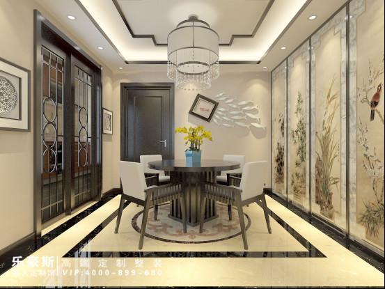 三室两厅中式装修效果图图片