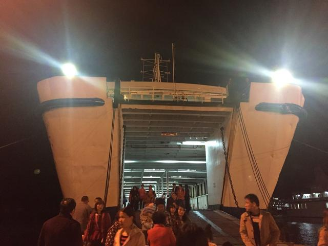 目的: 吃! 海安 下了轮船后又坐了一通宵的大巴,最终到达了广州.