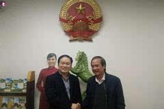 力倍特董事长詹友何拜访越南驻昆明总领事阮士洪
