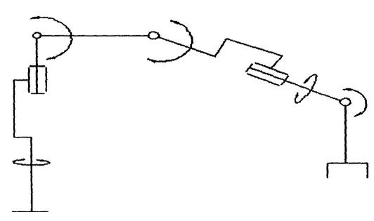 喷漆机械手方案功能设计 机械手总体结构类型