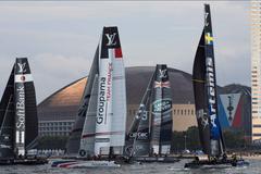 路虎本·安思雷帆船队折桂美洲杯帆船赛世界系列赛