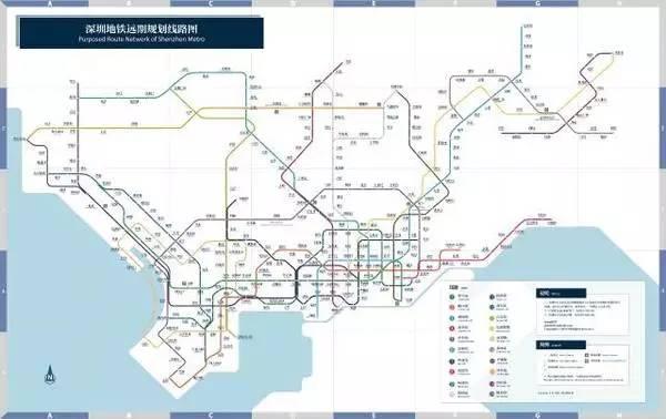 (2040年深圳地铁规划图)