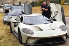 还记得三辆过于拉风被警方了拦查的福特GT吗?剧情大逆转。。。