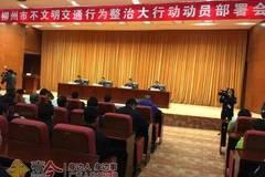 今天你文明出行了吗? 柳州启动不文明交通百日整治行动