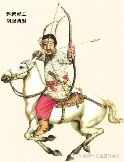 古装骑马女手绘