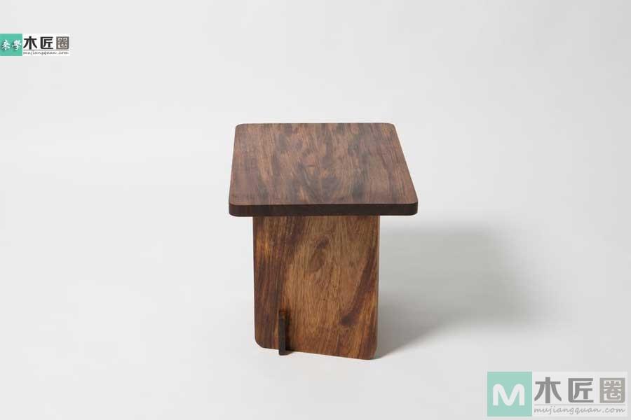[家具] 初学木工,榫卯结构之板凳制作图片