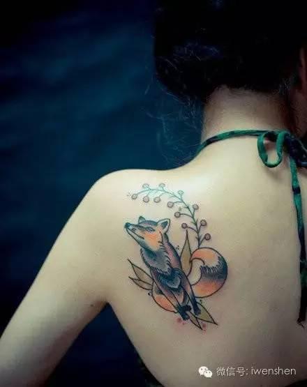 女生纹身纹在哪里最好看?一不小心就美到你了图片
