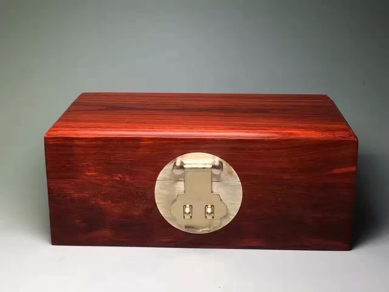 紫檀首饰盒:古代女人的嫁妆到现在成了男人的收藏