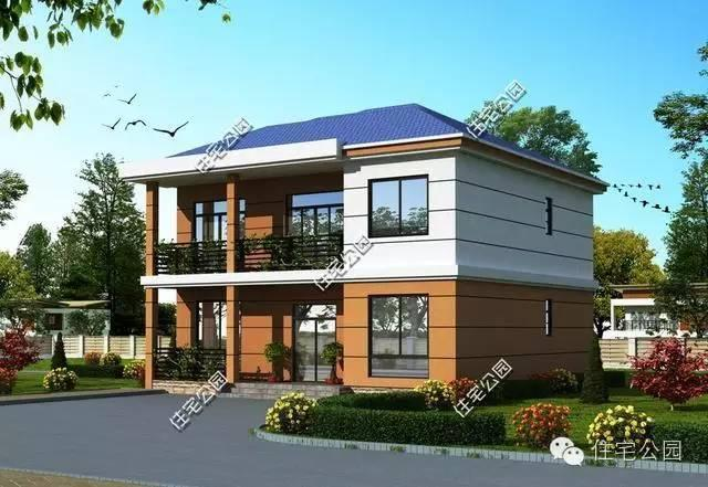 新农村别墅自建房型2套,布局完美, 想喷都难