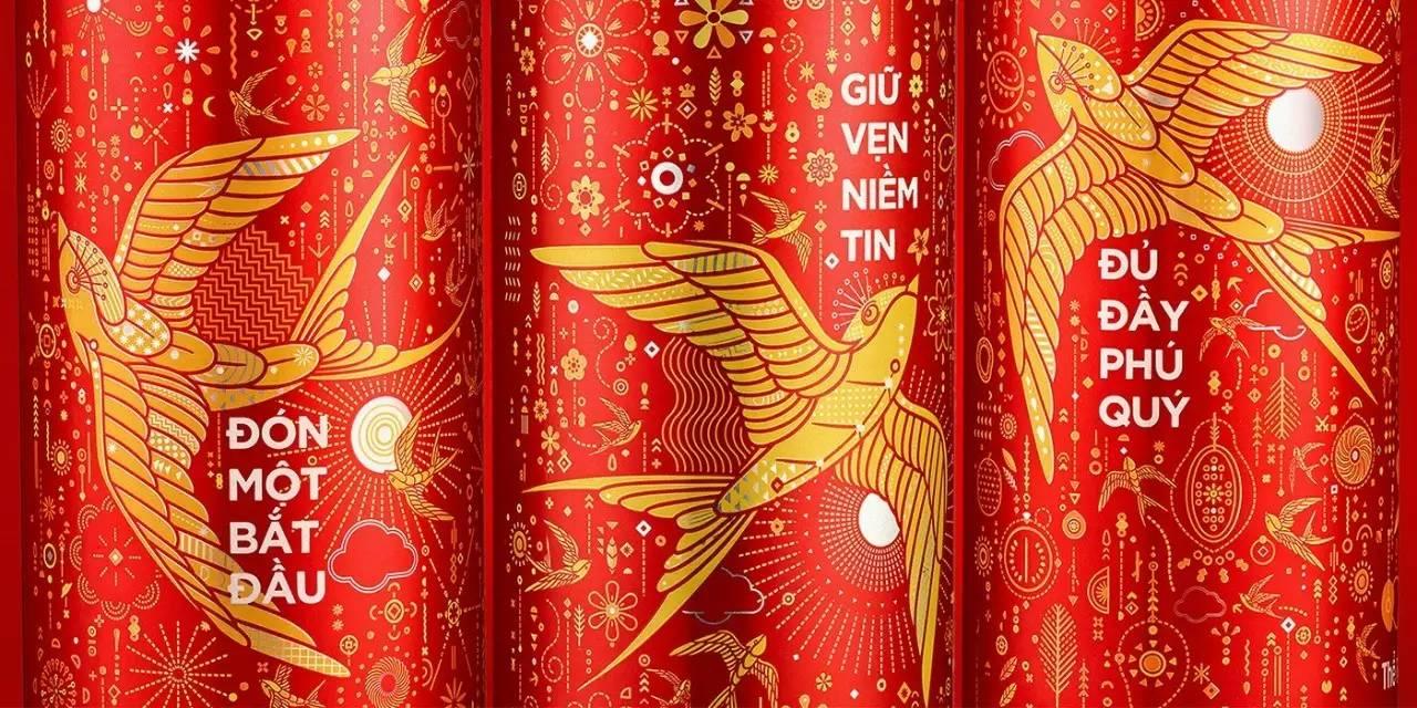 令人惊艳的可口可乐2017春节限量版包装图片