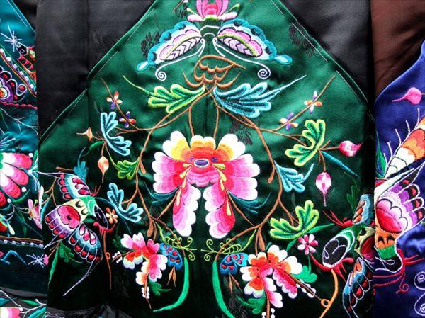 凤凰特产苗族刺绣图片