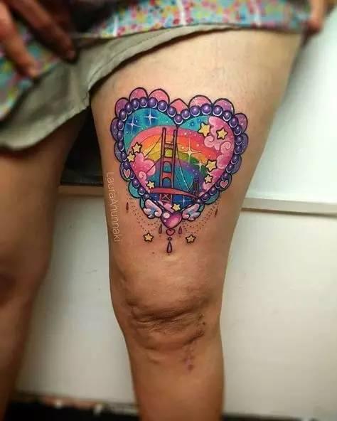 少女系的纹身艺术什么开女生车个矮图片
