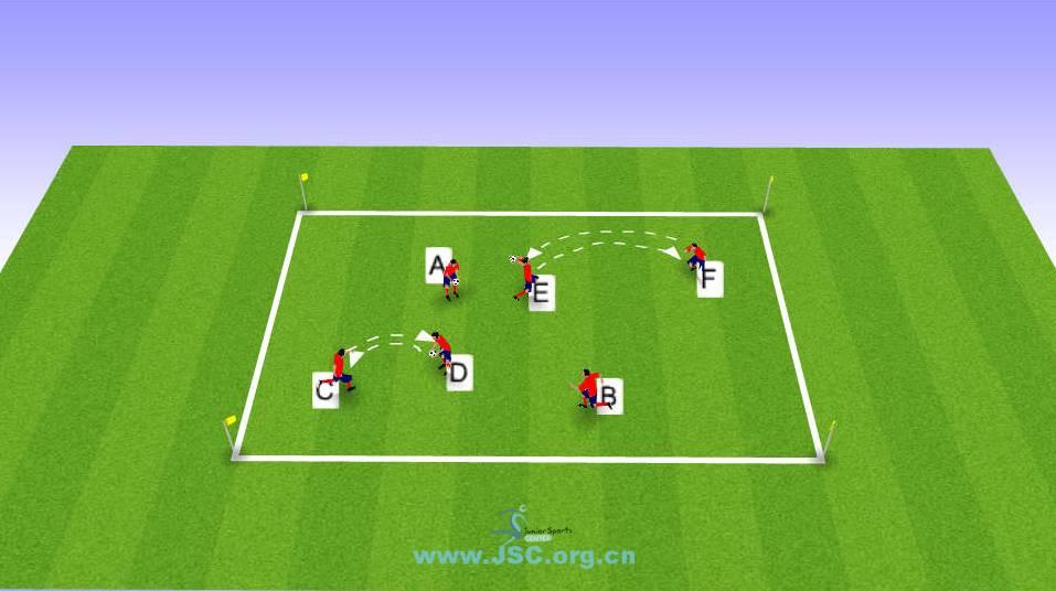 【教练角】足球身体素质训练:跨越栏架+带球绕