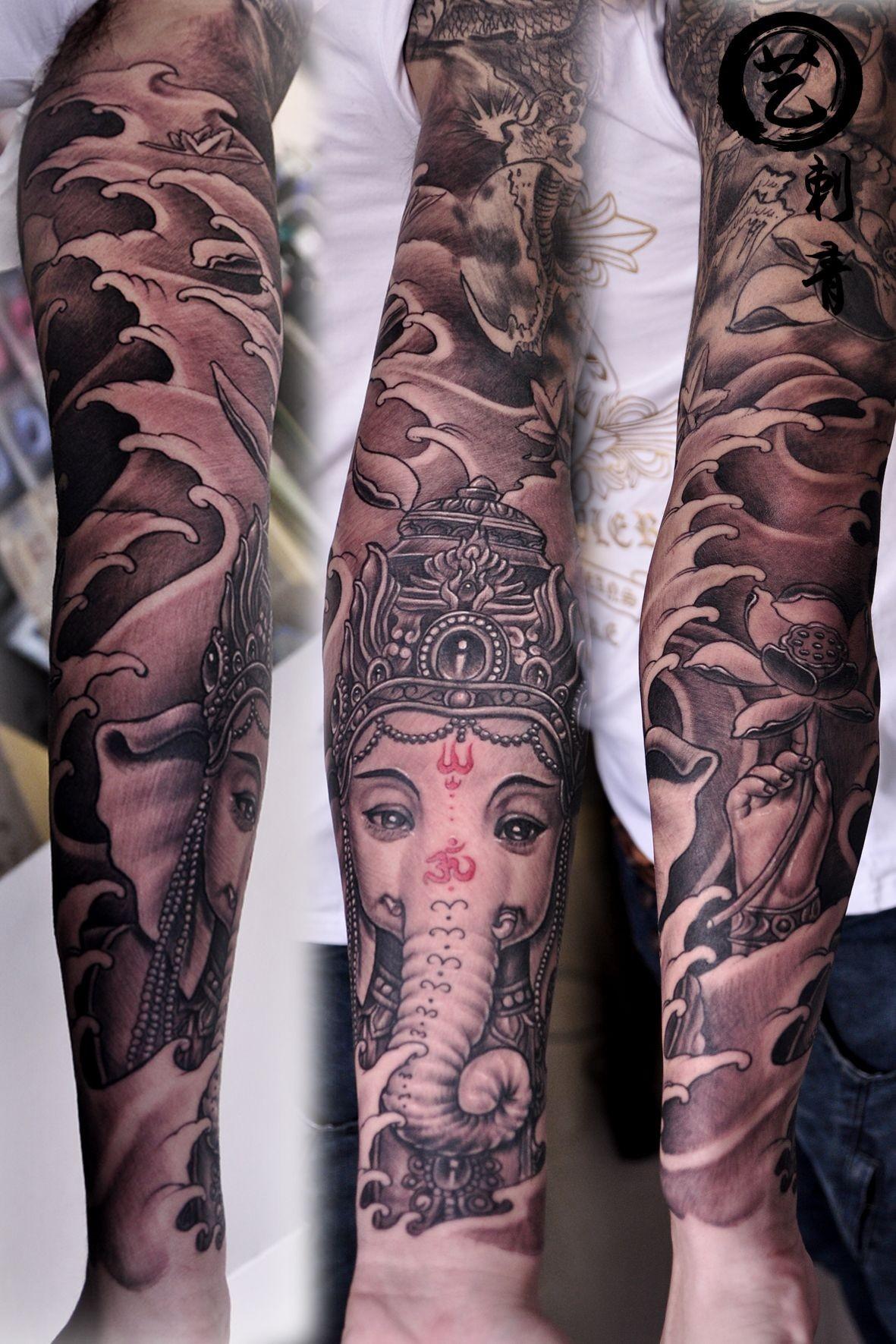 花臂:刺青