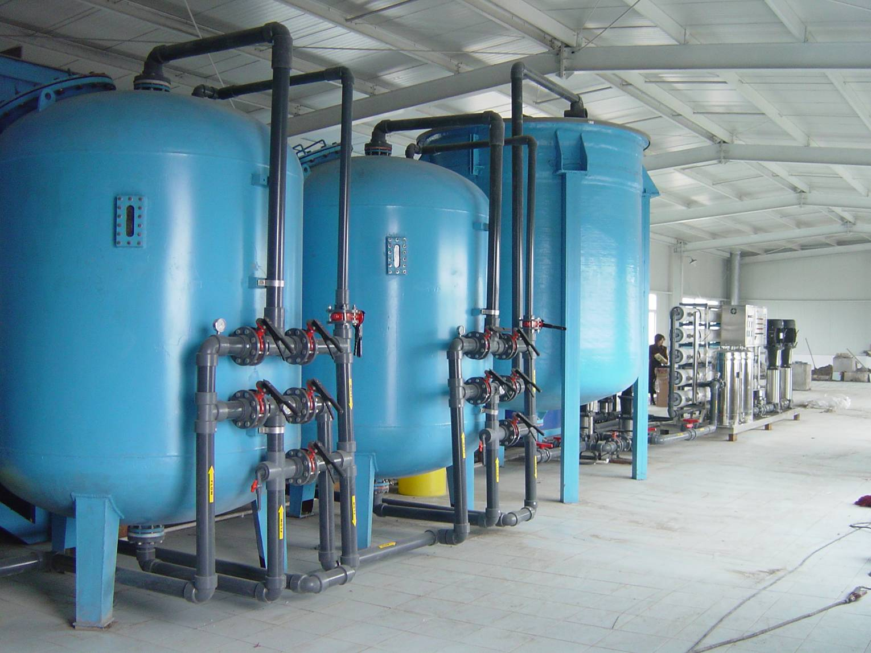 软化水设备安装图