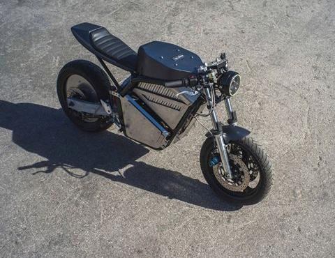 独一无二 这可能是目前世界上最帅的纯电摩托车